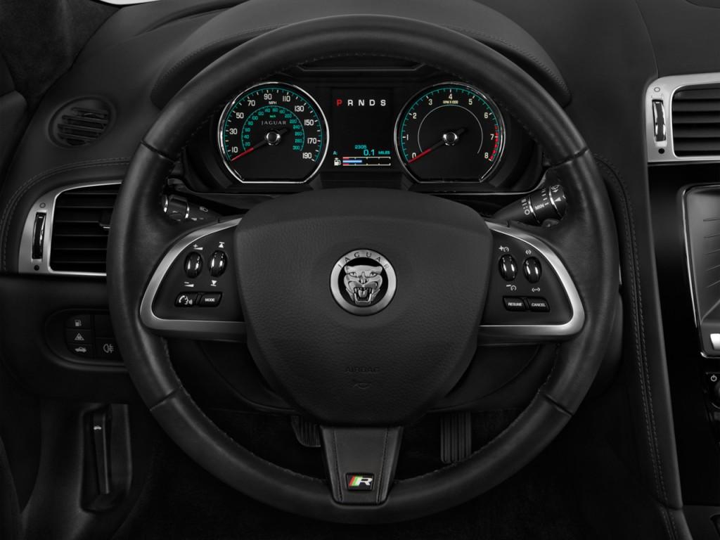 image 2015 jaguar xk 2 door convertible xkr steering. Black Bedroom Furniture Sets. Home Design Ideas