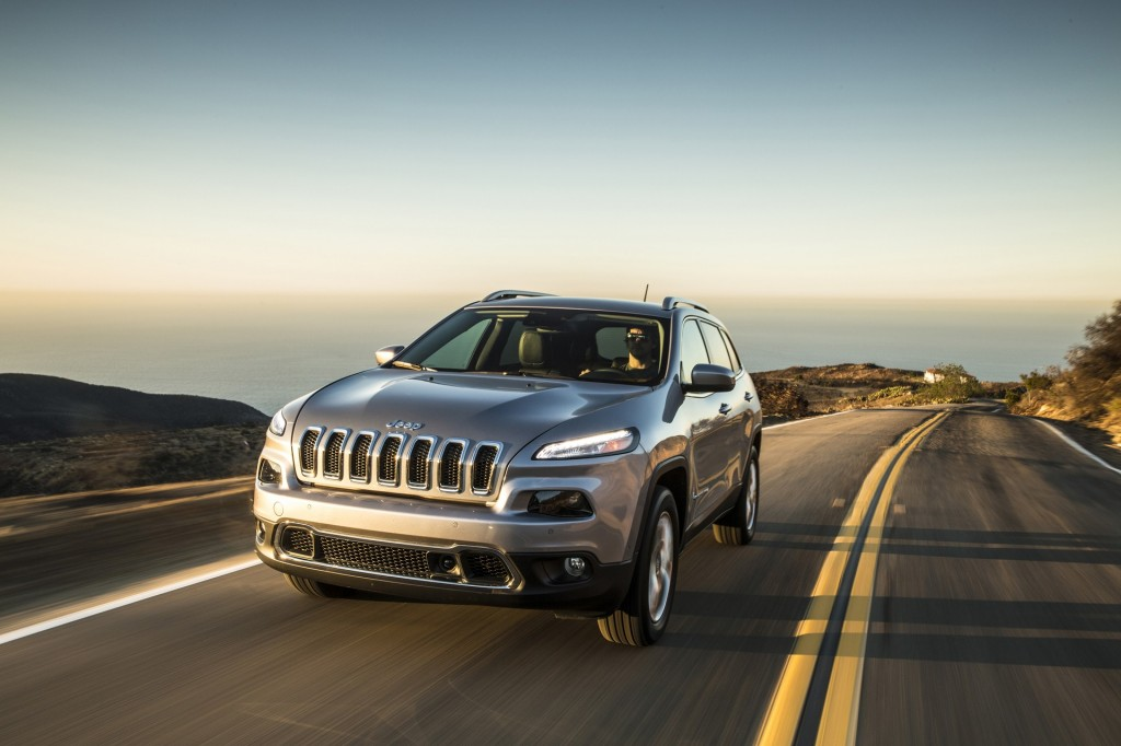 2014-2015 Jeep Cherokee Recalled: 228,181 SUVs To Receive Airbag Software Upgrade