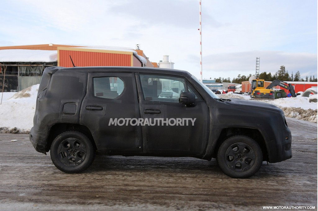 2015 Jeep Jeepster spy shots