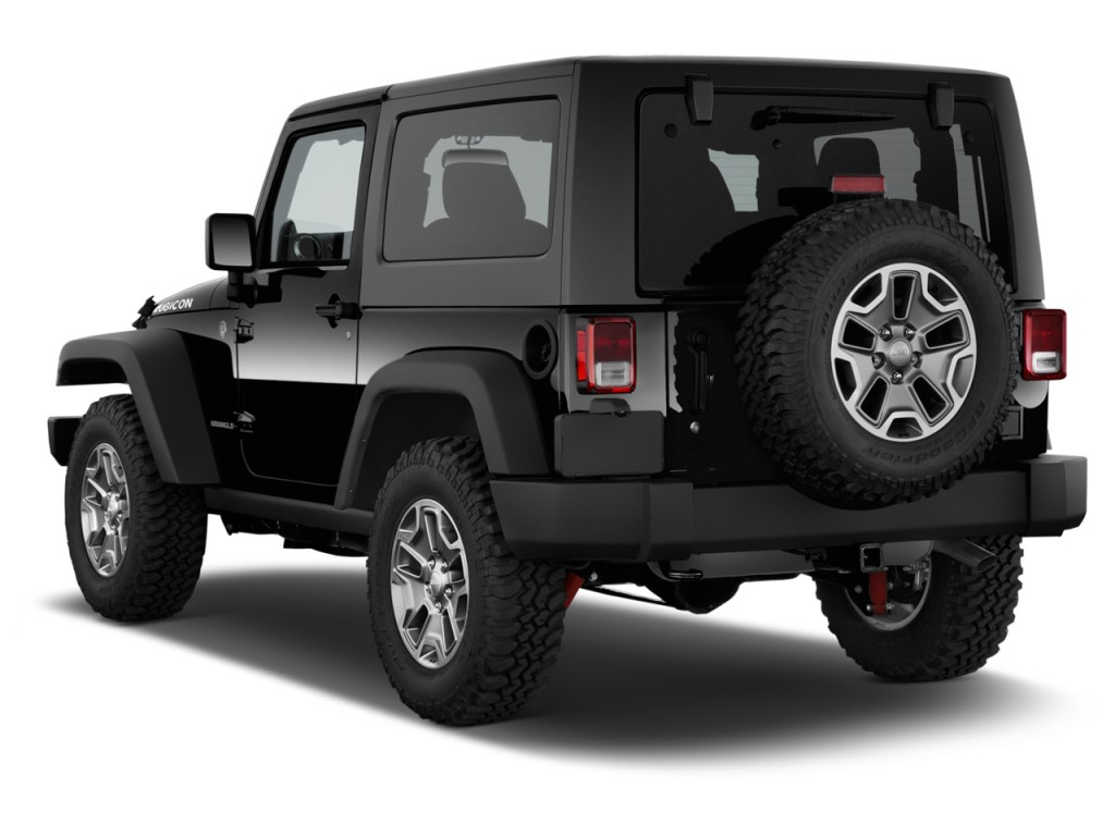 Image 2015 Jeep Wrangler 4wd 2 Door Rubicon Angular Rear