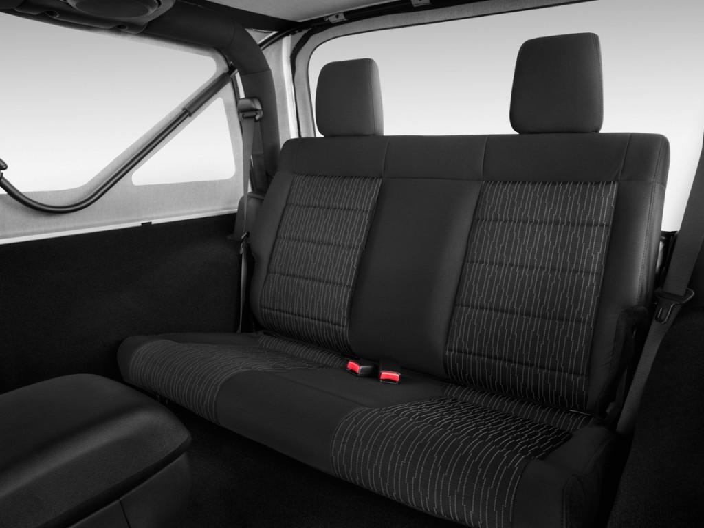 Image 2015 Jeep Wrangler 4WD 2 door Sport Rear Seats