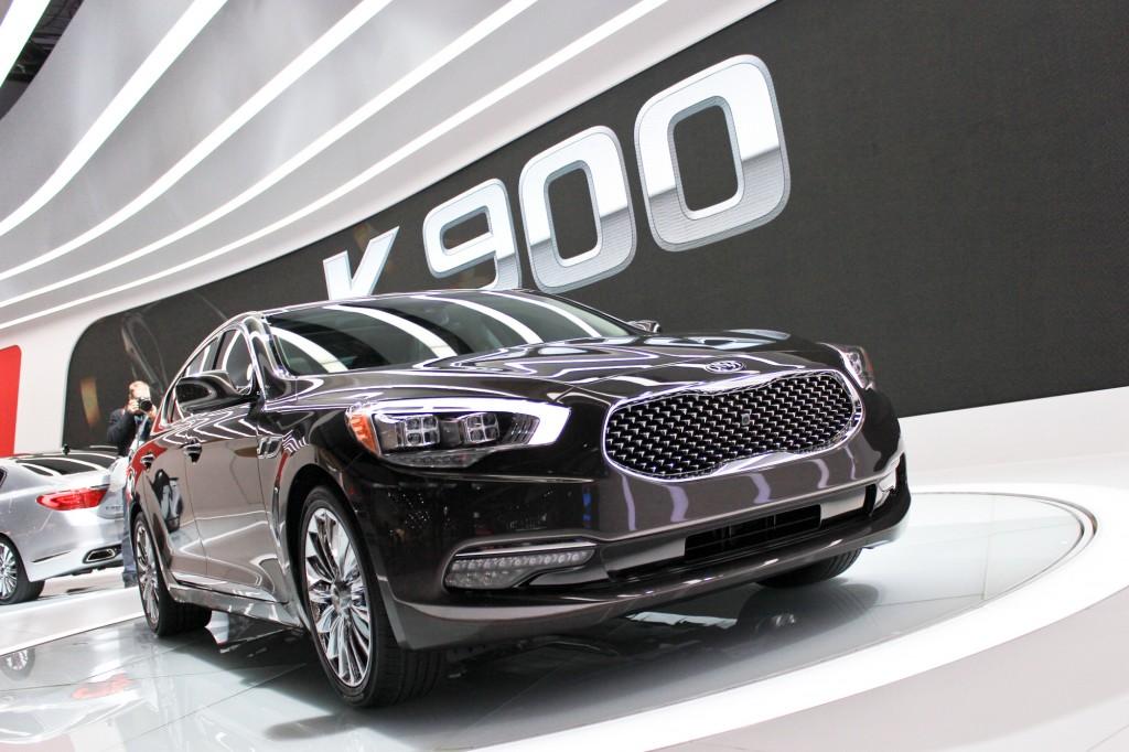 2015 Kia K900 La Auto Show Video And Photos