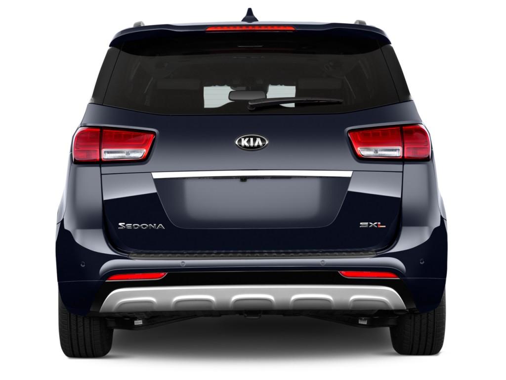 image 2015 kia sedona 4 door wagon sx l rear exterior view size 1024 x 768 type gif posted. Black Bedroom Furniture Sets. Home Design Ideas