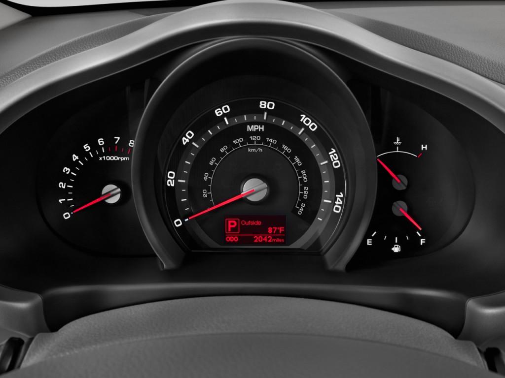 Image: 2015 Kia Sportage 2WD 4-door EX Instrument Cluster ...