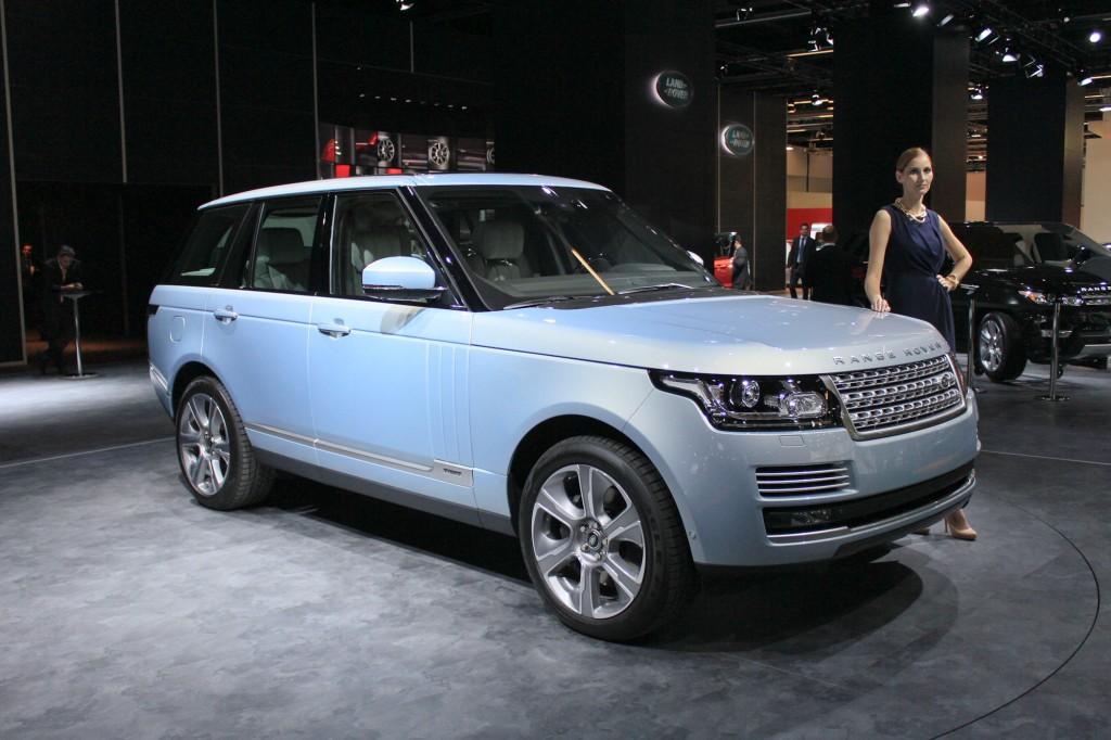 Hybrid Range Rover And Range Rover Sport 2013 Frankfurt Auto Show
