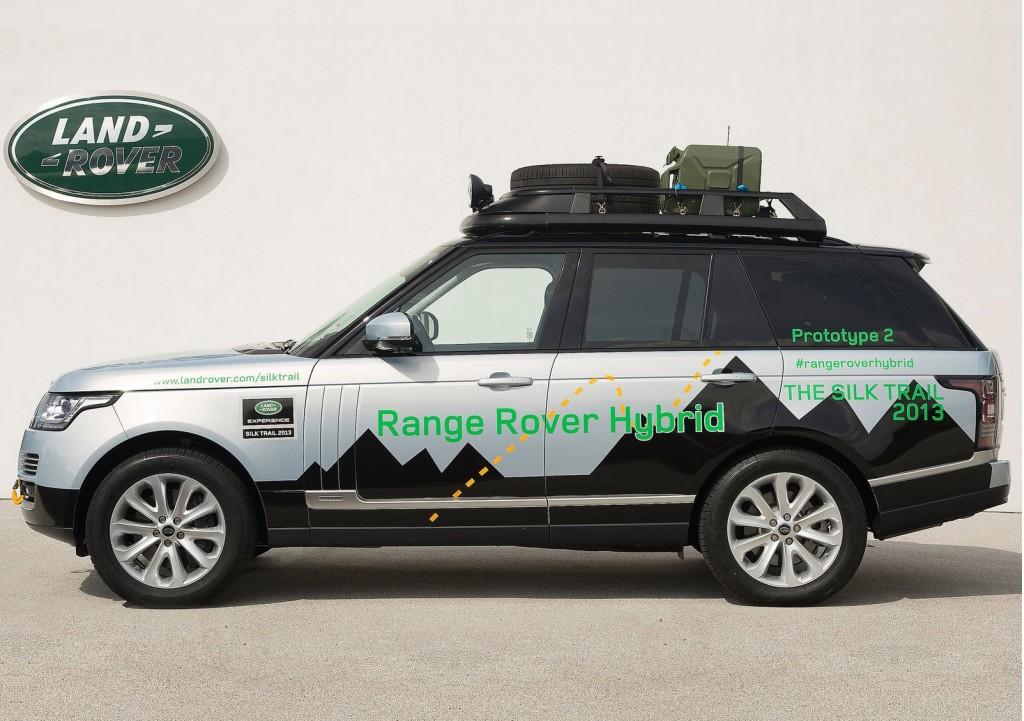 2014 Range Rover Hybrid Range Rover Sport Hybrid Revealed