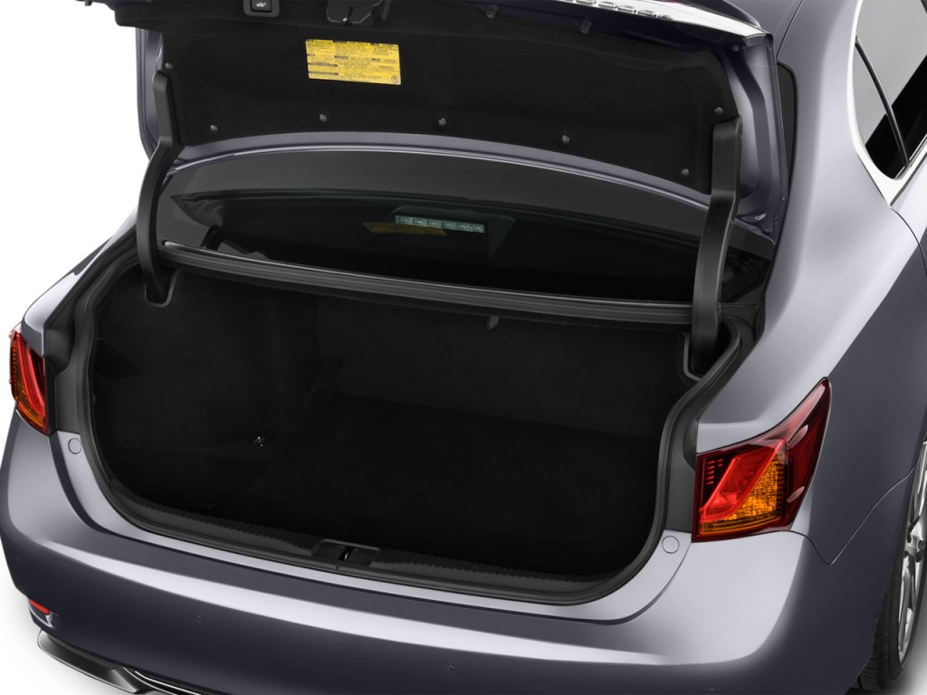 Toyota toyota camry trunk space : Image: 2015 Lexus GS 350 4-door Sedan RWD Trunk, size: 1024 x 768 ...