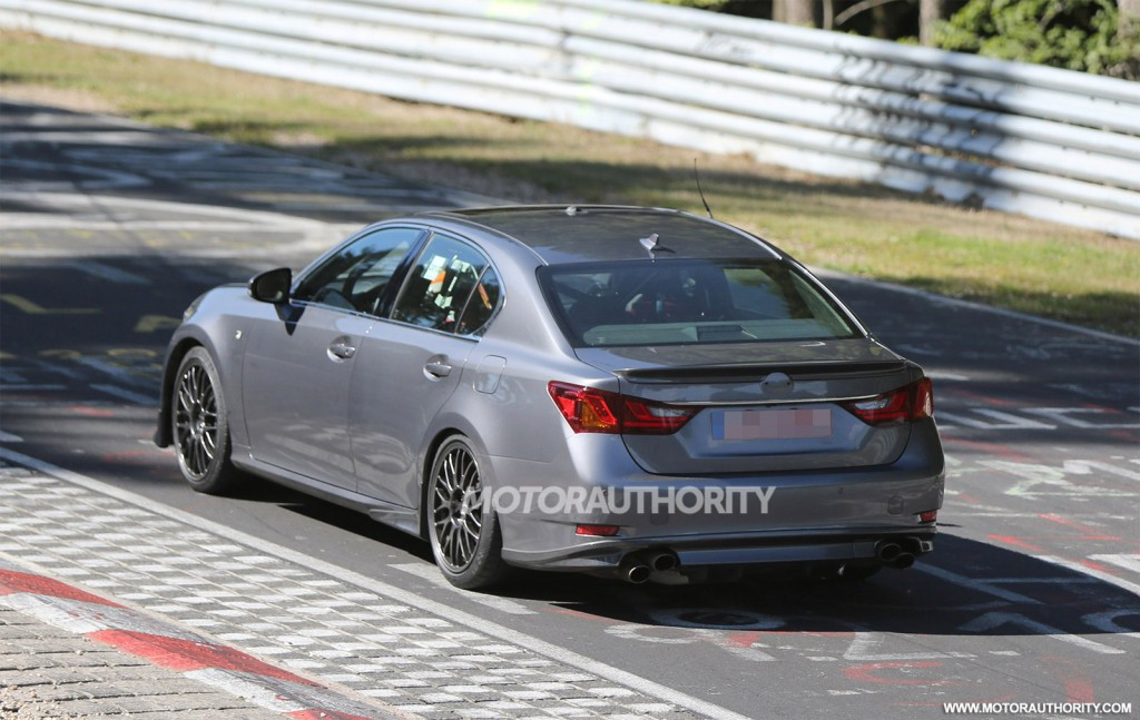 2015 Lexus GS F spy shots