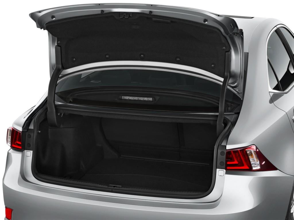 Image 2015 Lexus Is 350 4 Door Sedan Rwd Trunk Size