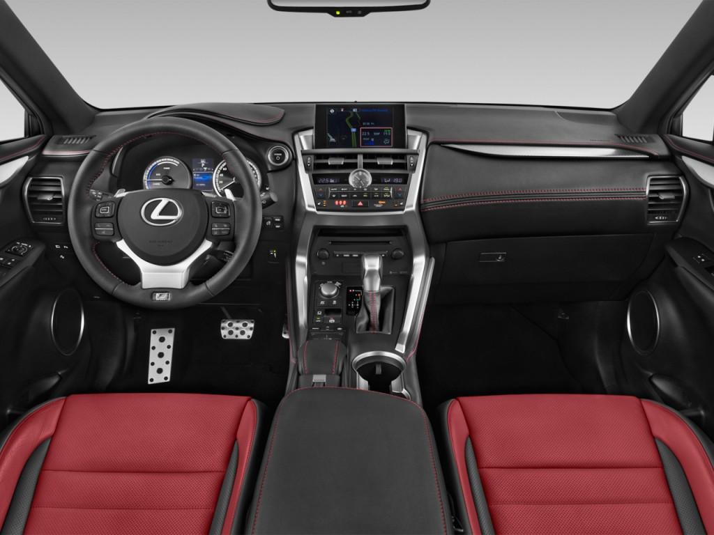 Image: 2015 Lexus NX 300h FWD 4-door Dashboard, size: 1024 ...