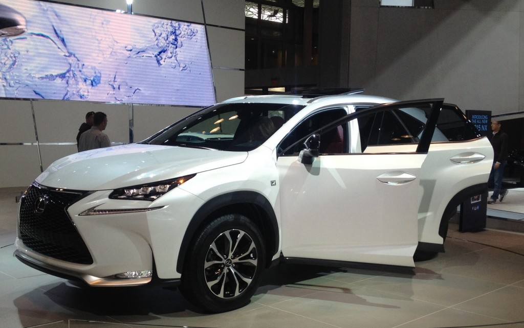 2015 Lexus NX at New York Auto Show