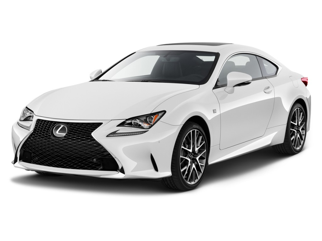 Image: 2015 Lexus RC 350 2-door Coupe AWD Angular Front Exterior View, size: 1024 x 768, type ...
