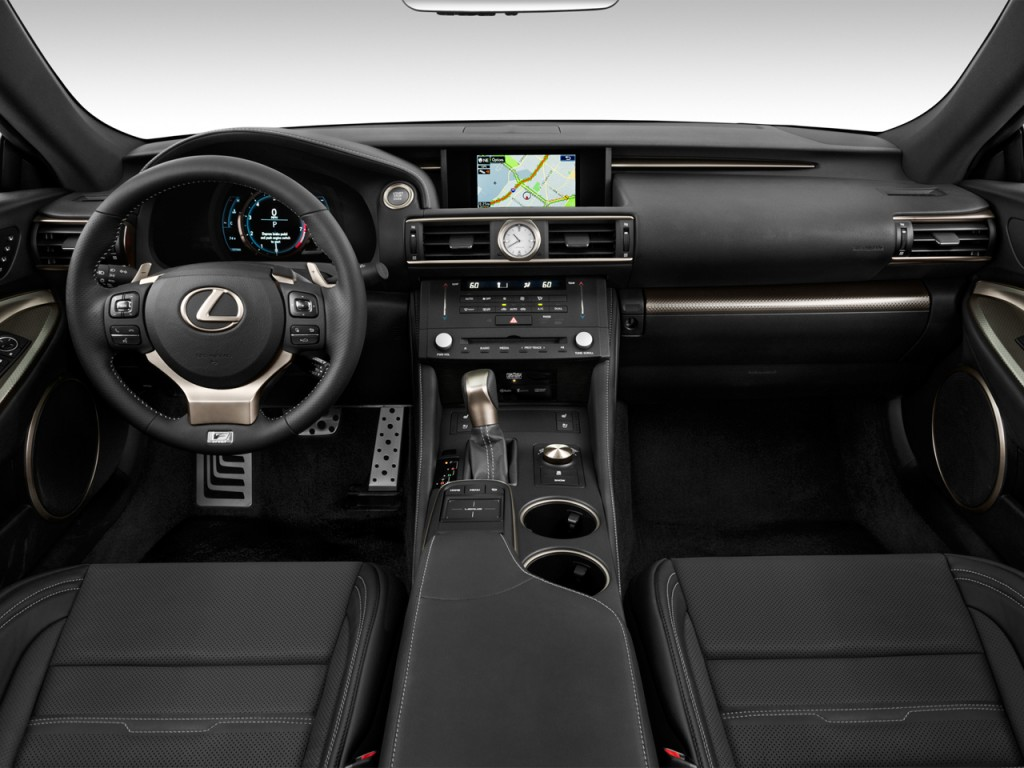 Image: 2015 Lexus RC 350 2-door Coupe AWD Dashboard, size ...