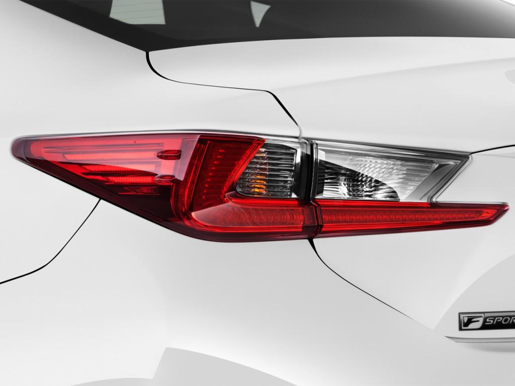 Image: 2015 Lexus RC 350 2-door Coupe AWD Tail Light, size ...