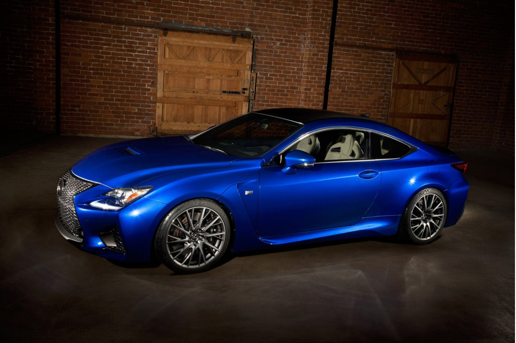 2015 Lexus Rc F Comes With 467 Horsepower 63325 Price Tag