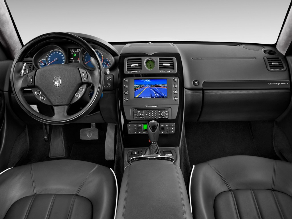 Gas Mileage For A Hummer >> Image: 2015 Maserati Quattroporte 4-door Sedan Quattroporte S Q4 Dashboard, size: 1024 x 768 ...