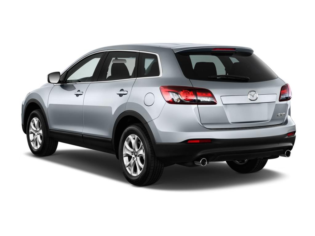 Image 2015 Mazda Cx 9 Fwd 4 Door Sport Angular Rear Exterior View Size 1024 X 768 Type Gif