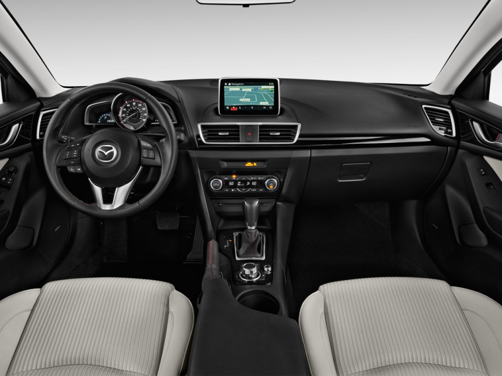 image: 2015 mazda mazda3 4-door sedan auto i sv dashboard, size