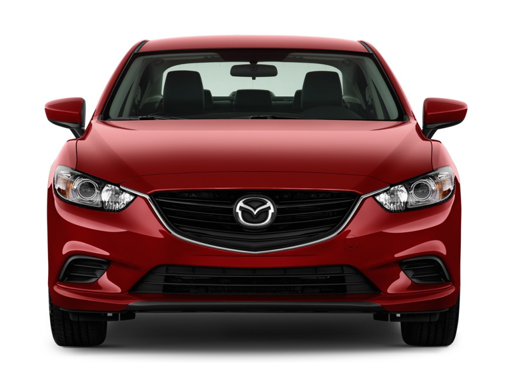 Image 2015 Mazda Mazda6 4 Door Sedan Auto I Touring Front Exterior View Size 1024 X 768 Type