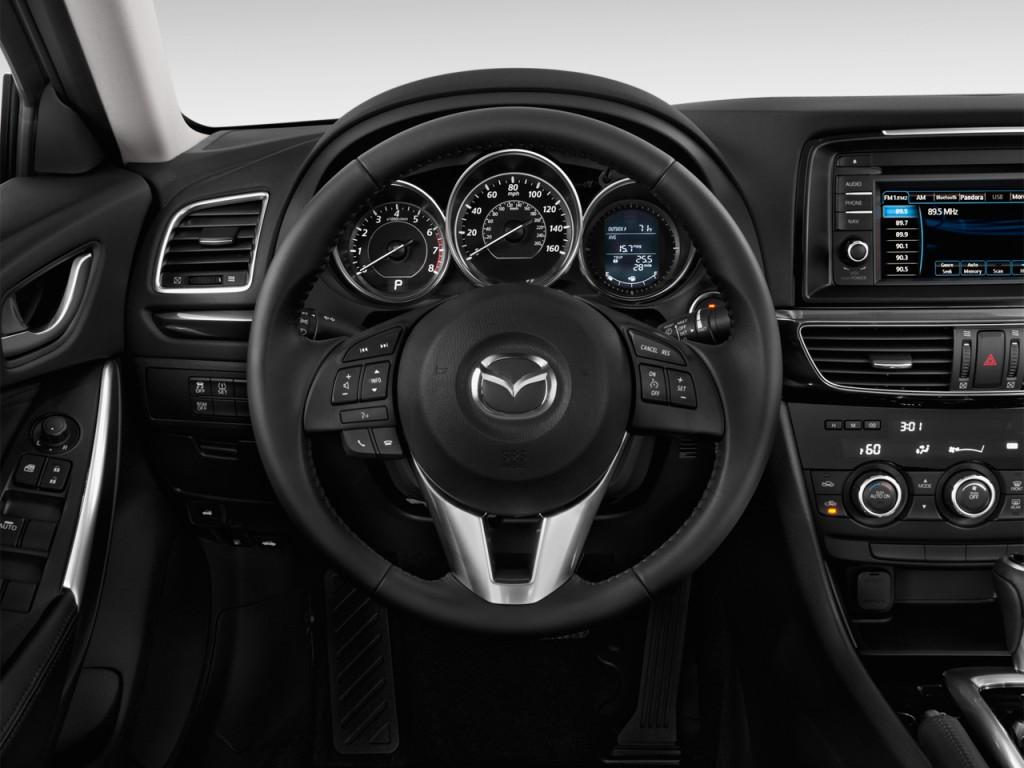 image 2015 mazda mazda6 4 door sedan auto i touring steering wheel size 1024 x 768 type gif. Black Bedroom Furniture Sets. Home Design Ideas