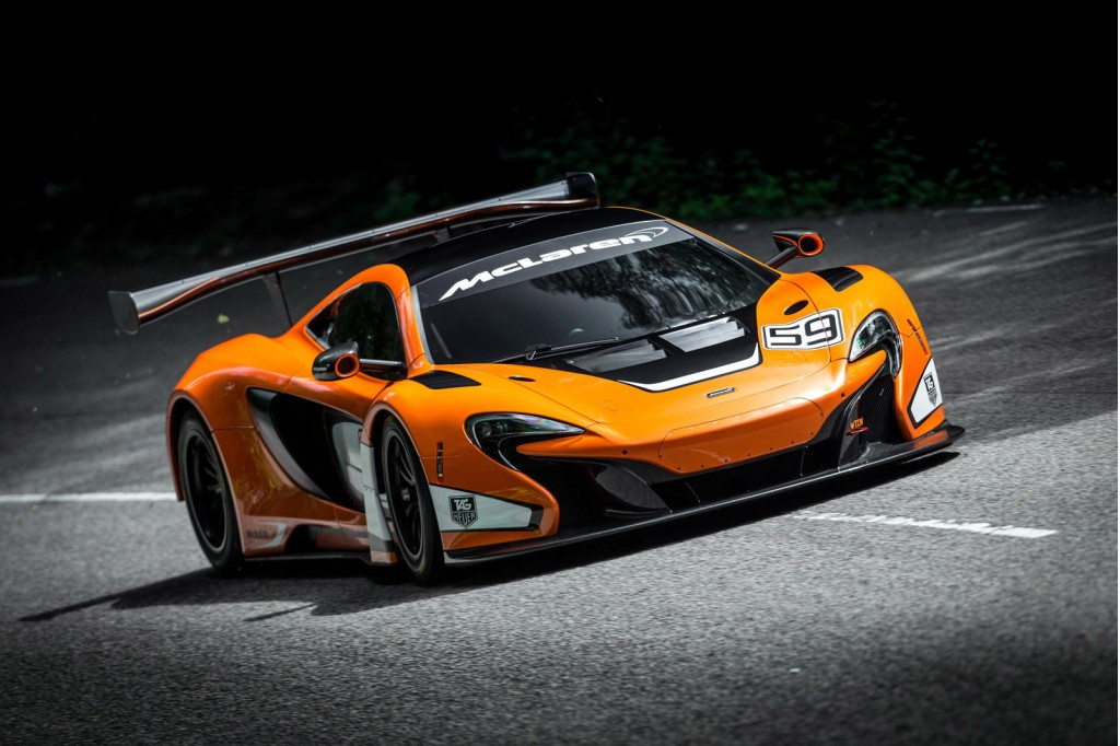 Mclaren Race Car Revealed
