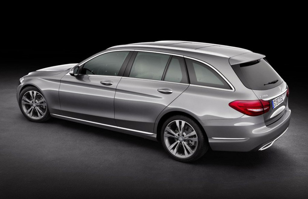 2015 Mercedes Benz C Class Wagon Revealed