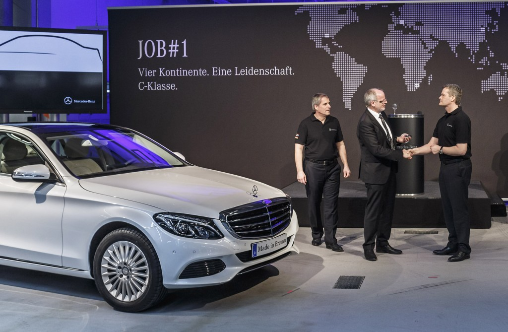 2015 Mercedes-Benz C-Class production in Bremen, Germany