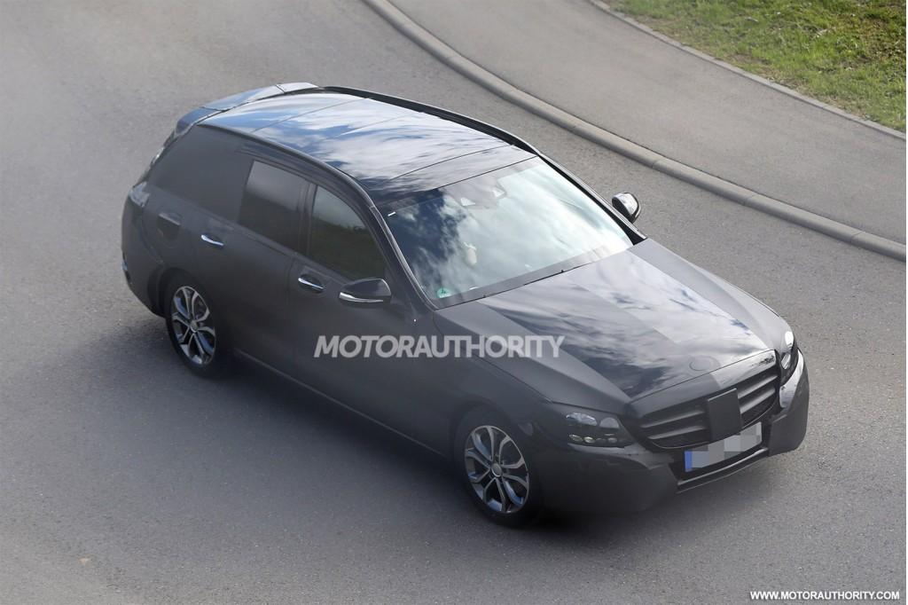 2015 Mercedes-Benz C-Class Estate (wagon) spy shots