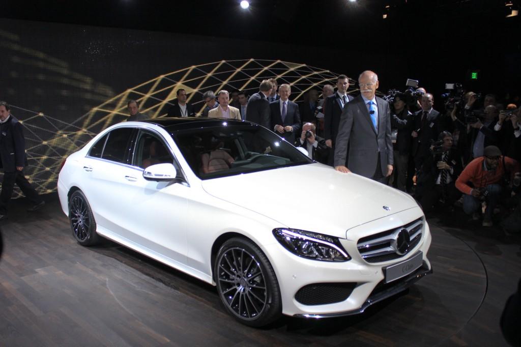 2015 Mercedes-Benz C-Class live photos, 2014 Detroit Auto Show preview