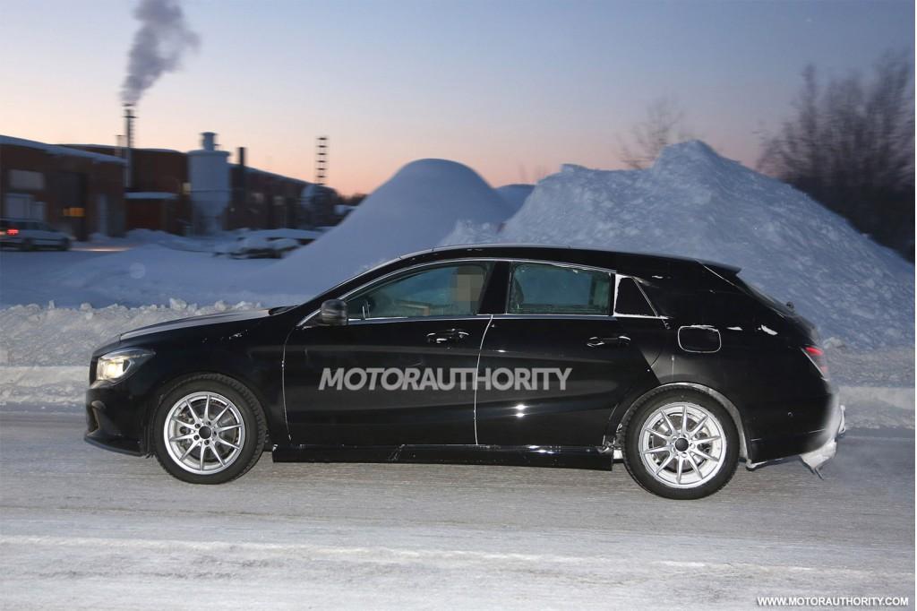 2015 Mercedes-Benz CLA Shooting Brake spy shots