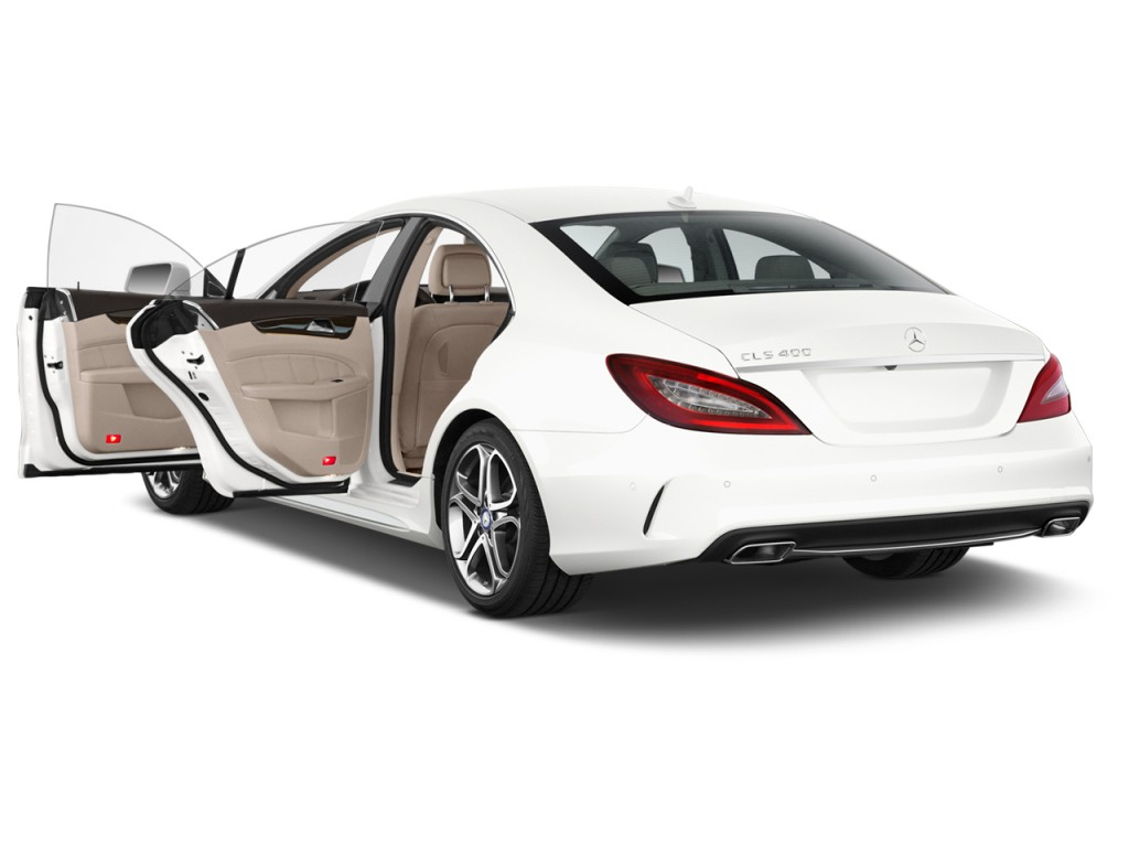 Image 2015 mercedes benz cls class 4 door sedan cls400 for Mercedes benz 4 door