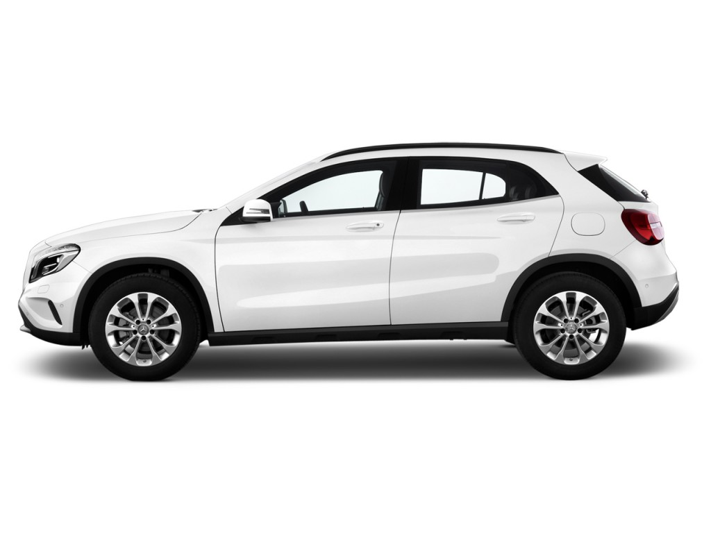 Types Of Uber Cars >> Image: 2015 Mercedes-Benz GLA Class 4MATIC 4-door GLA250 Side Exterior View, size: 1024 x 768 ...