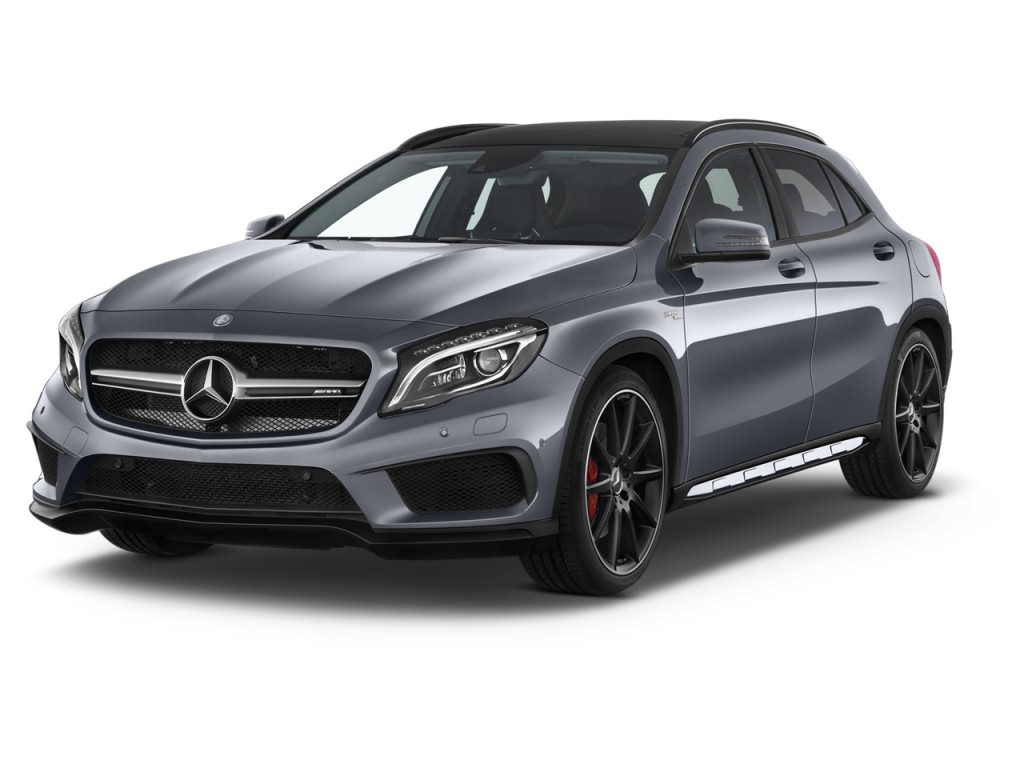 image 2015 mercedes benz gla class 4matic 4 door gla45 amg angular front exterior view size. Black Bedroom Furniture Sets. Home Design Ideas