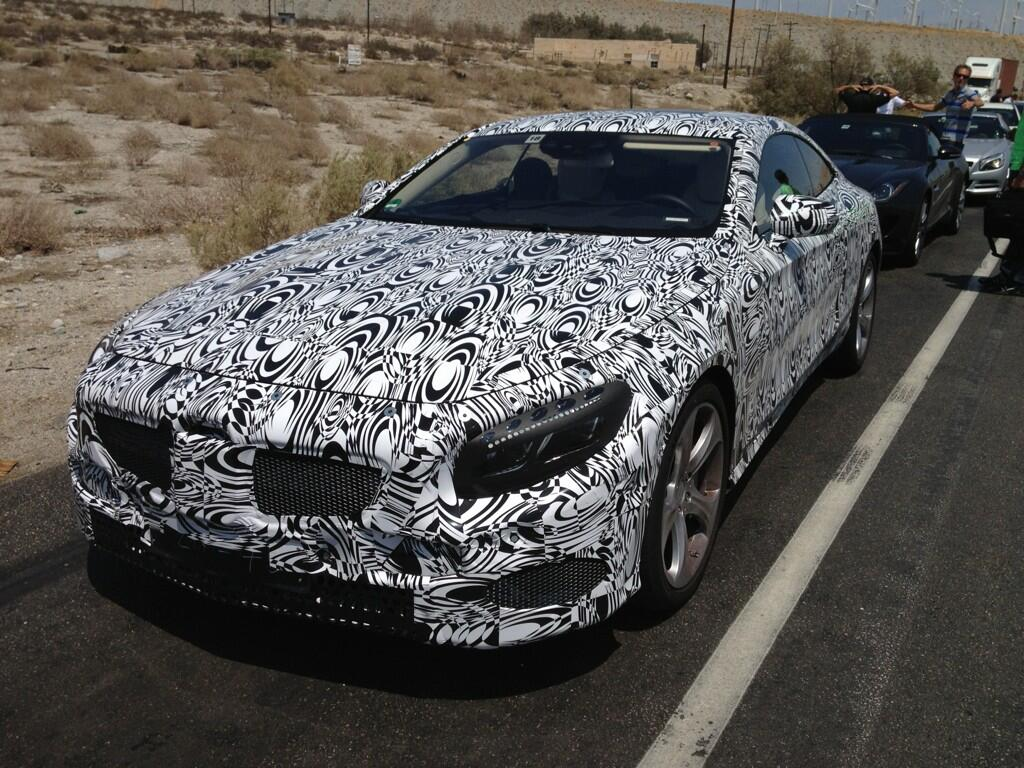 2015 Mercedes-Benz S Class Coupe during testing. Photo via Steve Cannon on Twitter.