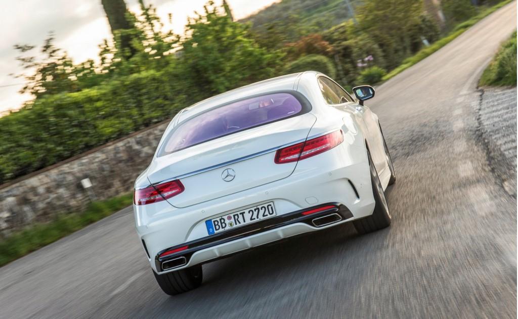 2015 Mercedes-Benz S-Class Coupe Dynamic Curve suspension