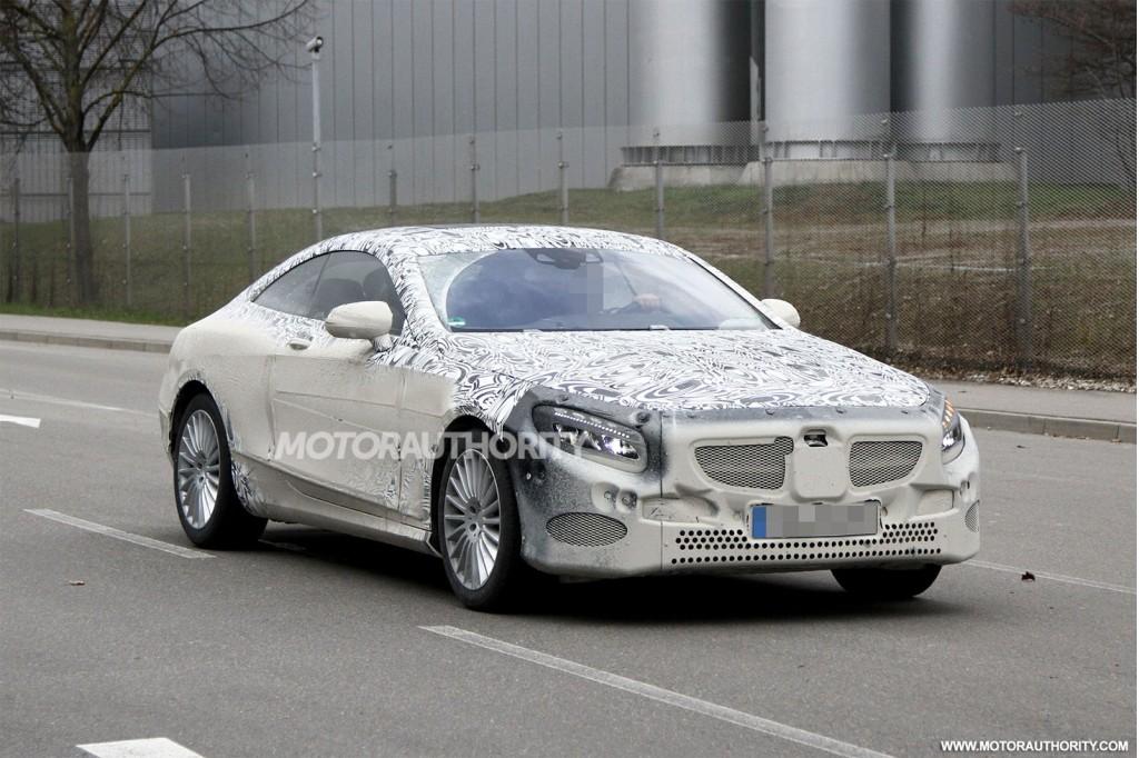 2015 Mercedes-Benz S Class Coupe spy shots