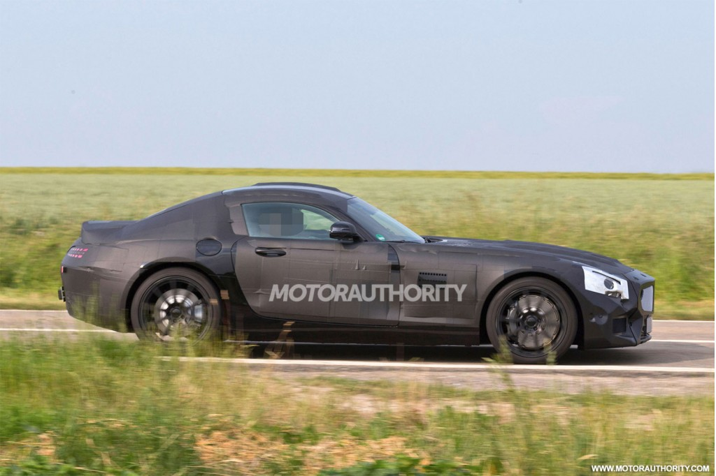 2016 Mercedes-AMG GT spy shots