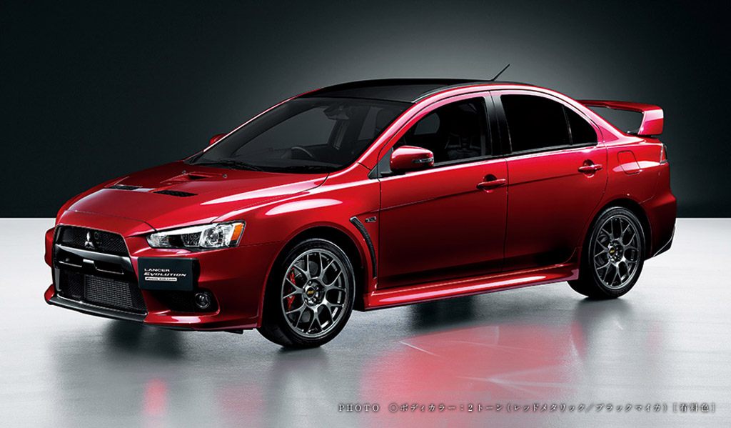 Toyota Dealership Chicago >> Mitsubishi Rolls Out Lancer Evolution Final Edition In Japan