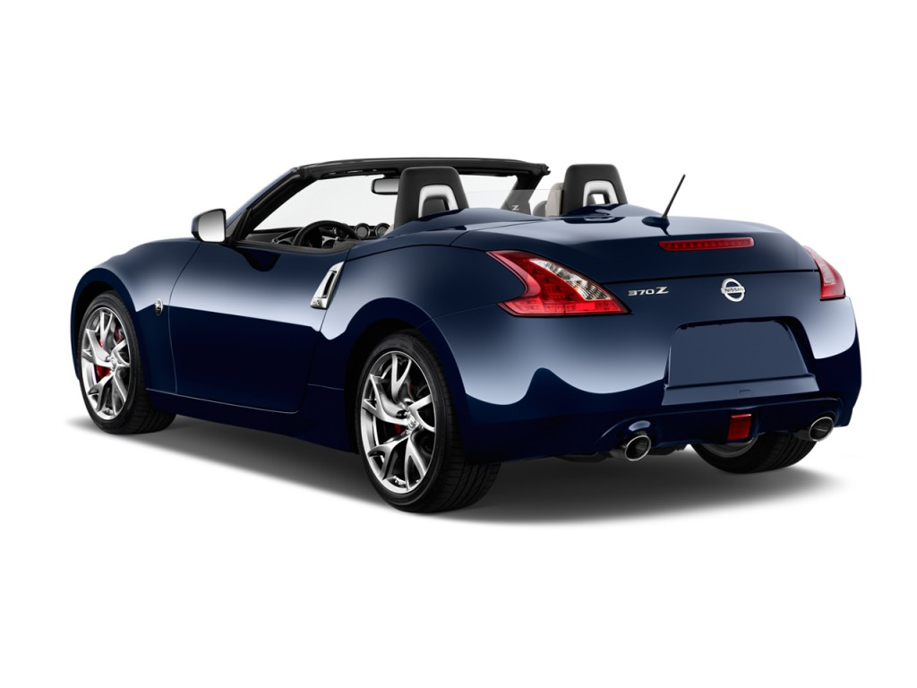 Image 2015 Nissan 370z 2 Door Roadster Auto Angular Rear Exterior View Size 1024 X 768 Type