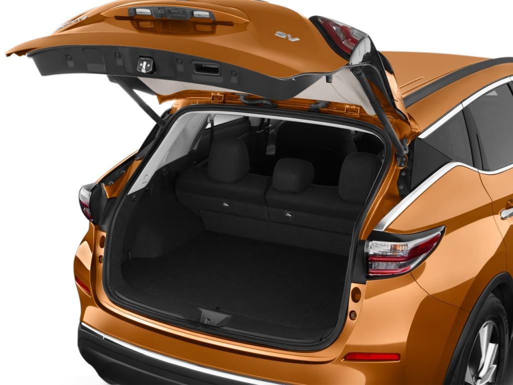 Image: 2015 Nissan Murano 2WD 4-door SV Trunk, size: 1024 ...