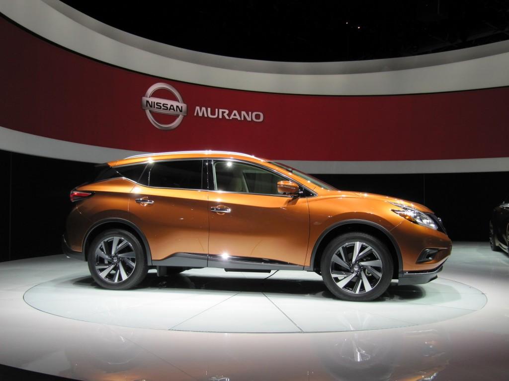 2015 Nissan Murano Video: New York Auto Show