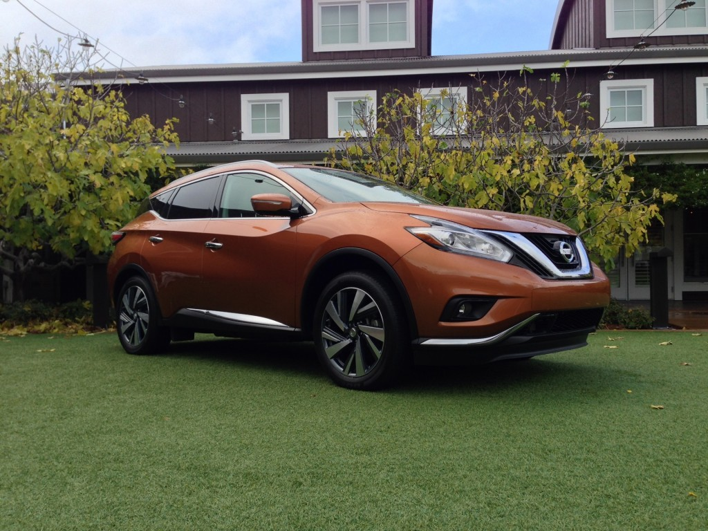 Image: 2015 Nissan Murano - First Drive, December 2014 ...