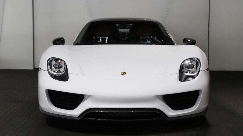 New Porsche 918 Spyder Surfaces For Sale Online