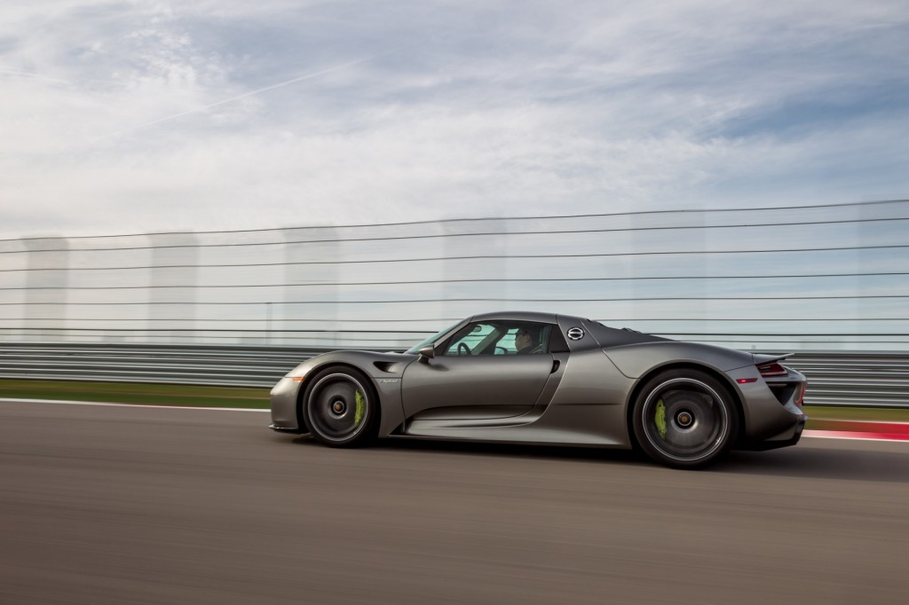 46 Porsche 918 Spyders Recalled For Rear Axle Issue