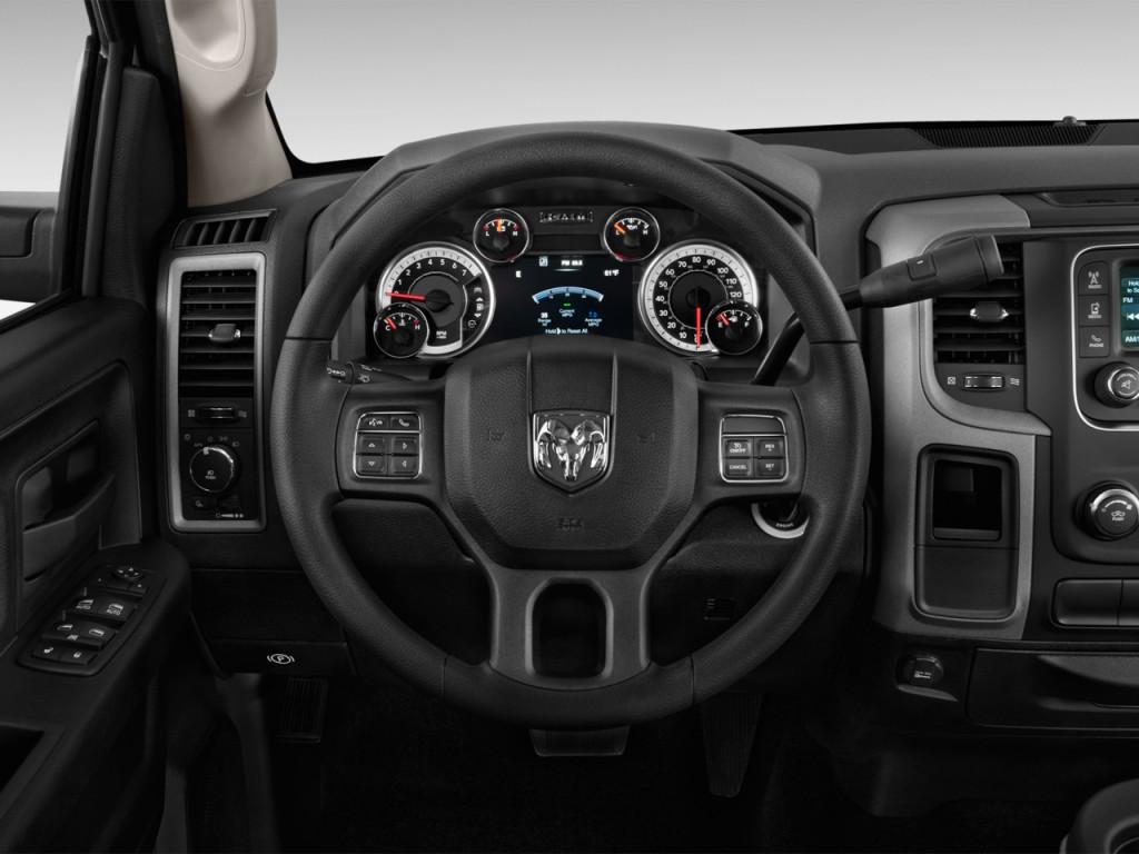 "Image: 2015 Ram 1500 4WD Crew Cab 140.5"" Express Steering ..."
