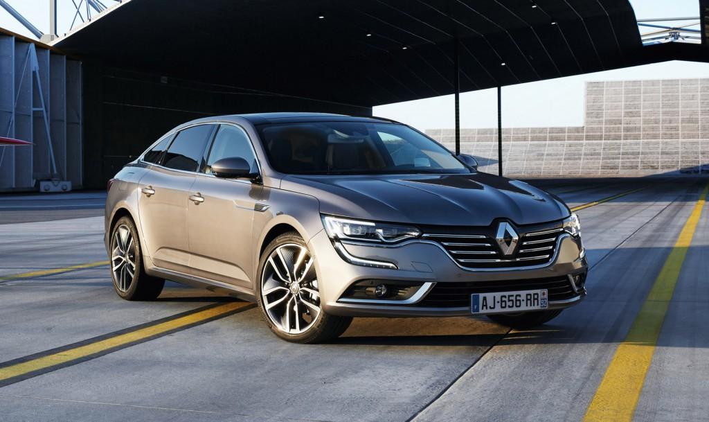 Renault Replaces Laguna With New Talisman Sedan Video