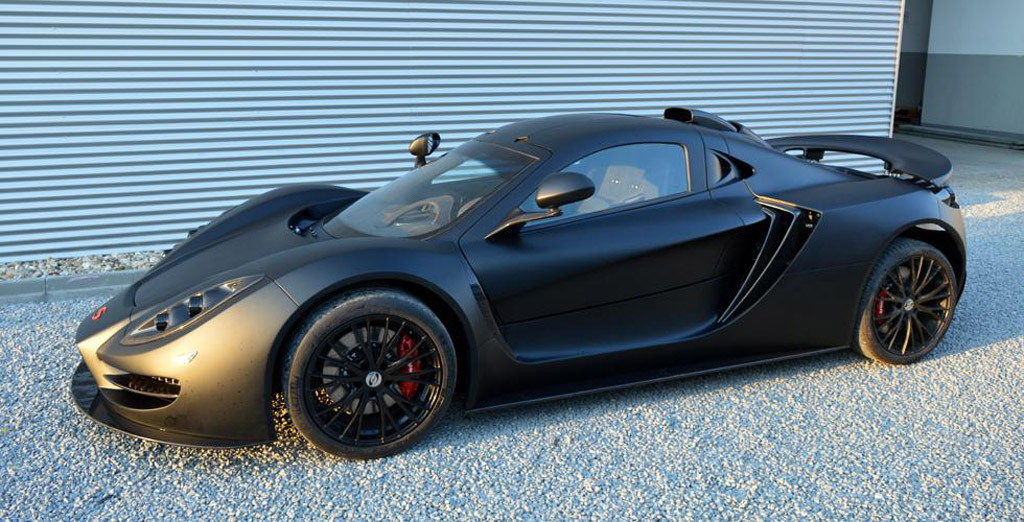 Corvette-Powered Sin R1 Road Car Enters Production: Video