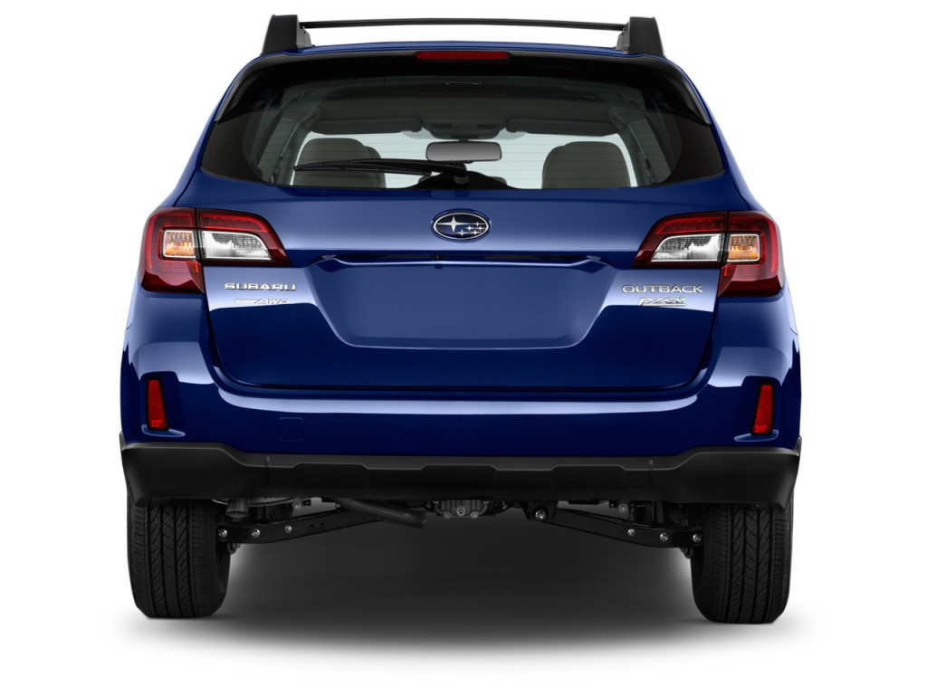 image 2015 subaru outback 4 door wagon h4 auto rear exterior view size 1024 x 768 type. Black Bedroom Furniture Sets. Home Design Ideas