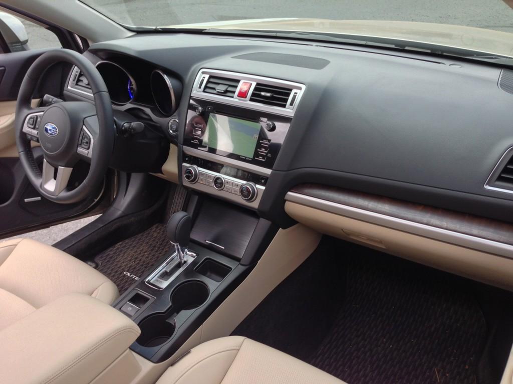 2015 Subaru Outback  -  First Drive