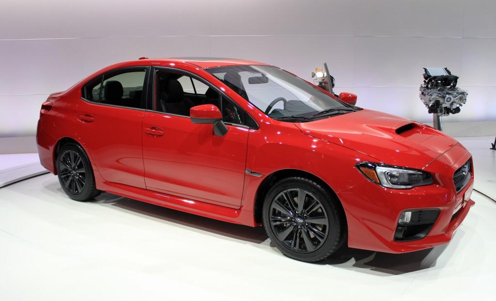 Used Subaru Outback Los Angeles >> Image: 2015 Subaru WRX, 2013 Los Angeles Auto Show, size: 1024 x 622, type: gif, posted on ...